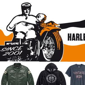 Textile - Harley-Davidson Besançon