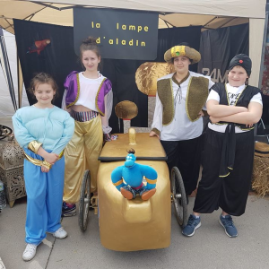Toute l'équipe de la Lampe d'Aladin de Montmorency (95) - F.F.C.V.P.