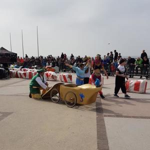 Présentation de l'équipe de la Lampe d'Aladin sur la course de Wimereux 2018 - F.F.C.V.P.