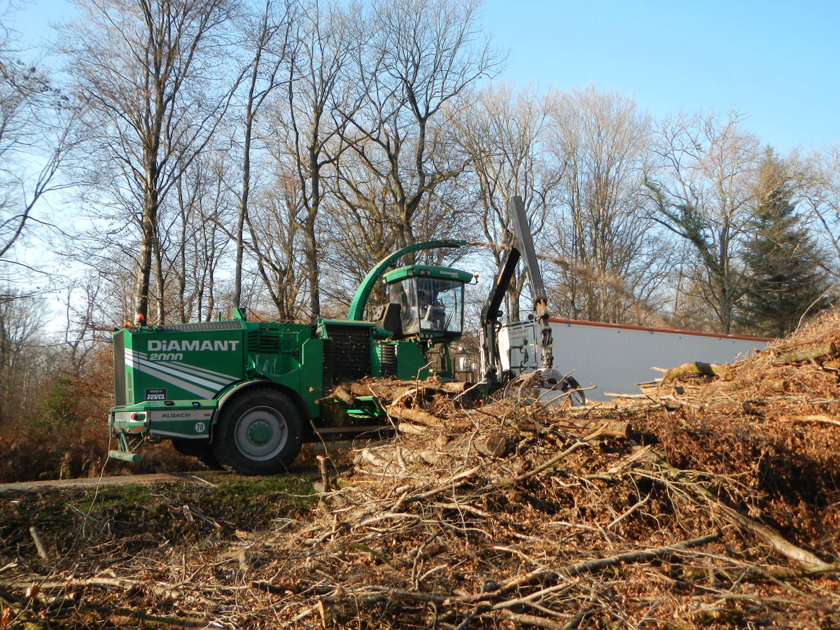 Bois énergie - broyeur bois énergie -