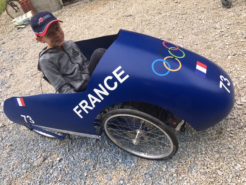 Louis sur le bobsleigh de Foucherans (25)