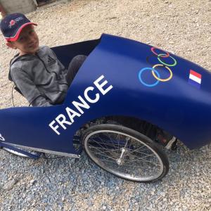 Louis sur le bobsleigh de Foucherans (25) - F.F.C.V.P.