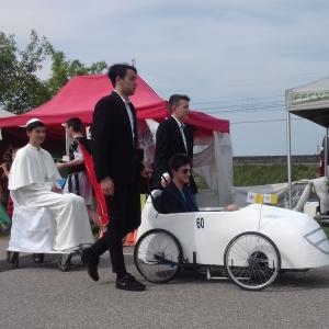 La Papamobile voiture Italienne de Faenza - F.F.C.V.P.