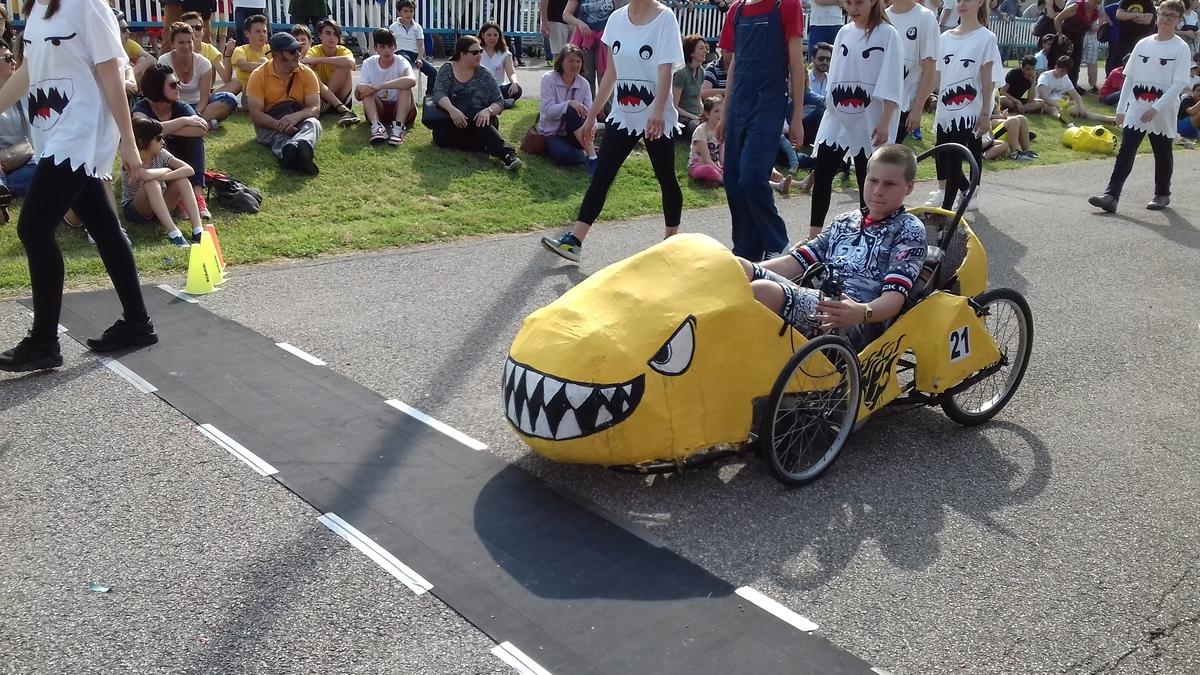 Mario Kart voiture Italienne S.M. S. Umiltà
