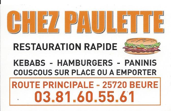 logo de Chez Paulette commerce à Beure