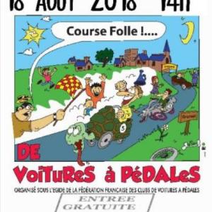 affiche publicitaire course de Cransac dans l'Aveyron (12) - F.F.C.V.P.