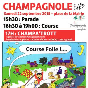 presse course de Champagnole 2018 - F.F.C.V.P.