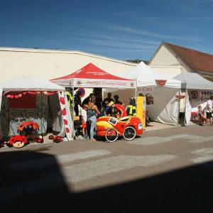le Stand des Pompiers d'Ornans (25) - F.F.C.V.P.