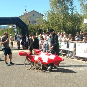la fusée de Tintin d'Ornans (25) dans le Doubs - F.F.C.V.P.