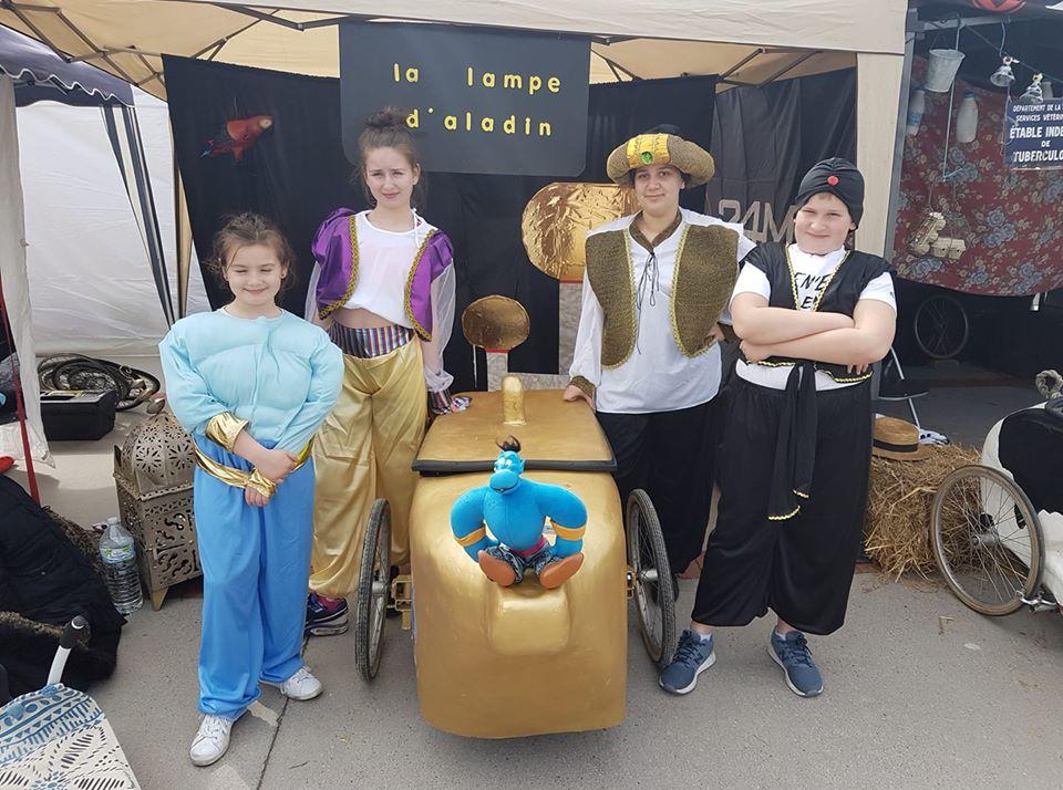 La Lampe d'Aladin équipe Junior de Montmorency (95)