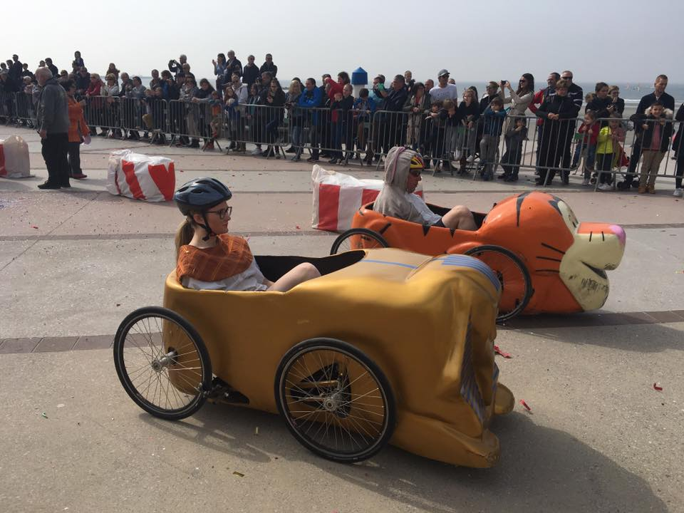 Départ lancé pour la course de Wimereux avec Pharao et Tigrou - F.F.C.V.P.