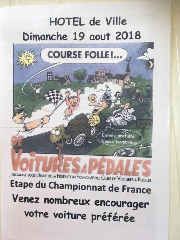 Affiche de la course de Cenon (33) - F.F.C.V.P.
