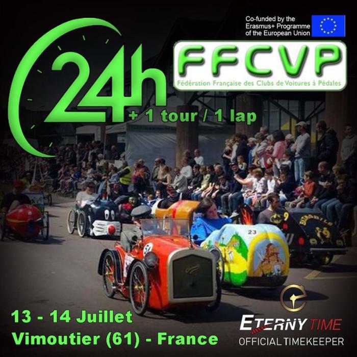 Les 24 heures et 1 minute de Vimoutiers (61) - F.F.C.V.P.