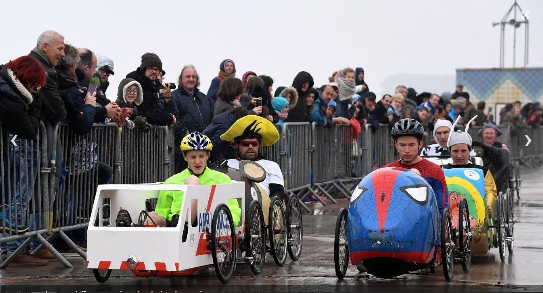 départ course de Wimereux 2019 - F.F.C.V.P.