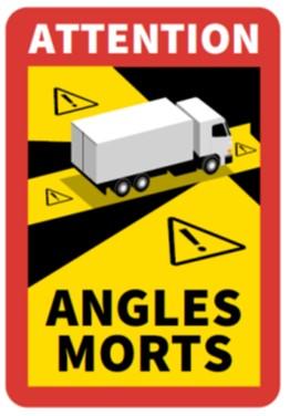 Logo - sticker angles morts -