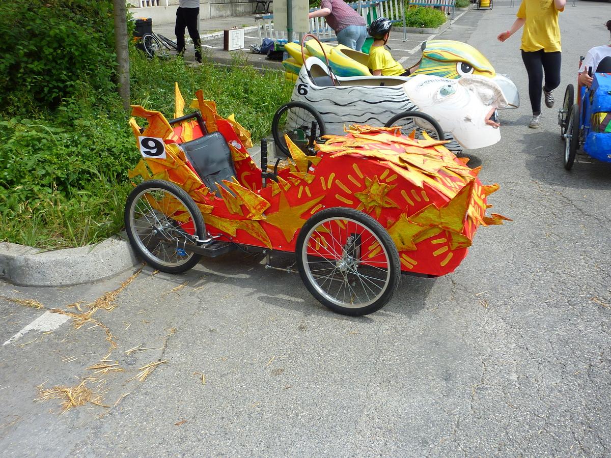 La Saetta voiture Italienne - F.F.C.V.P.