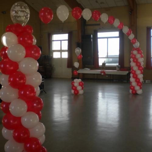 Coeur géant ballons