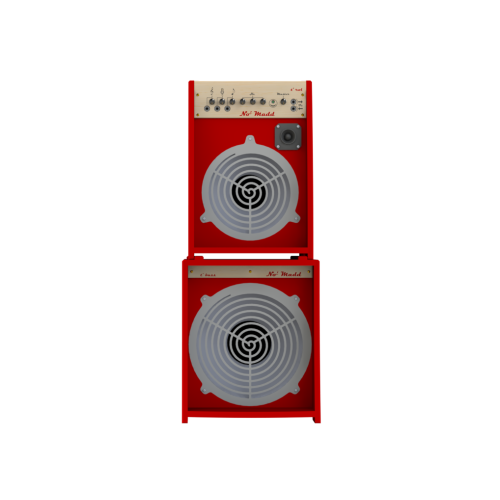 Amp for instruments T' ROL CABINET red - No' Madd