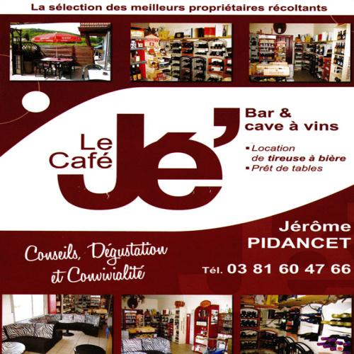 Publicité le Café Jé