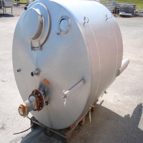 Cuve agitée 3000 litres