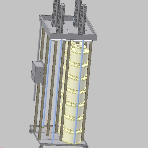 Presse pneumatique verticale BRENET