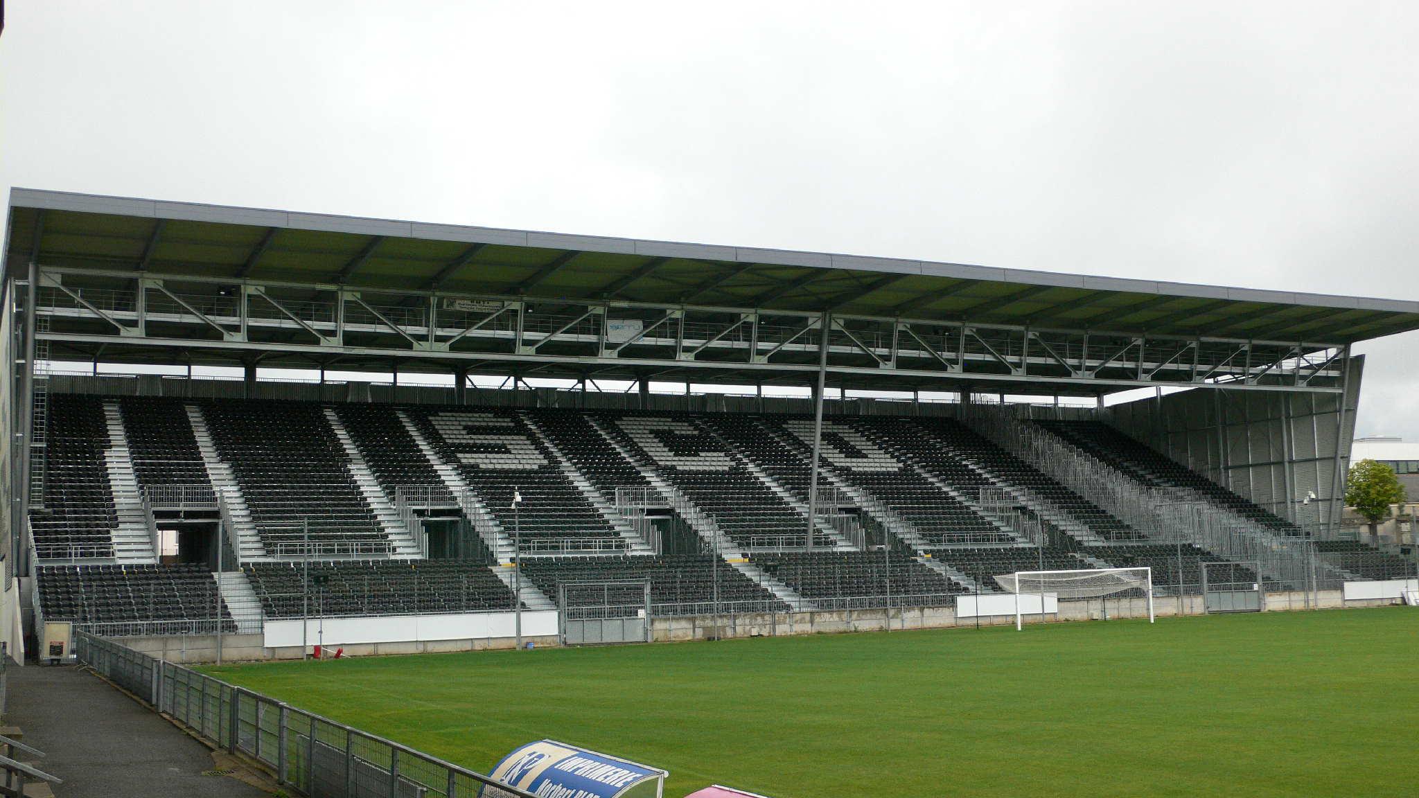 Retour au Stade Jean Bouin à Angers...