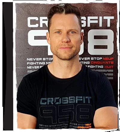 Hugues TAILLARD - Coach Box CrossFit 958 - Besançon
