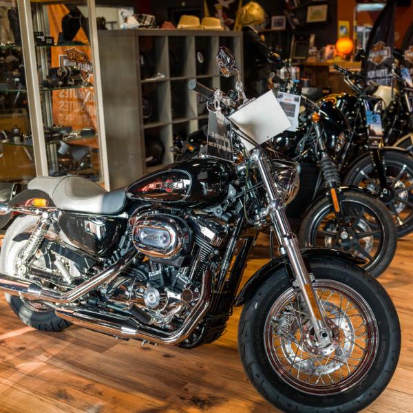 Concession - Show Room - Harley-Davidson Besançon