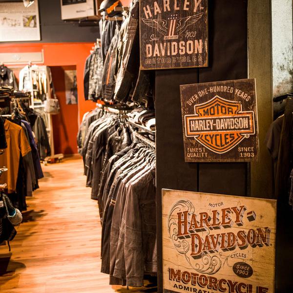 Concession - boutique textile et décoration - Harley-Davidson Besançon