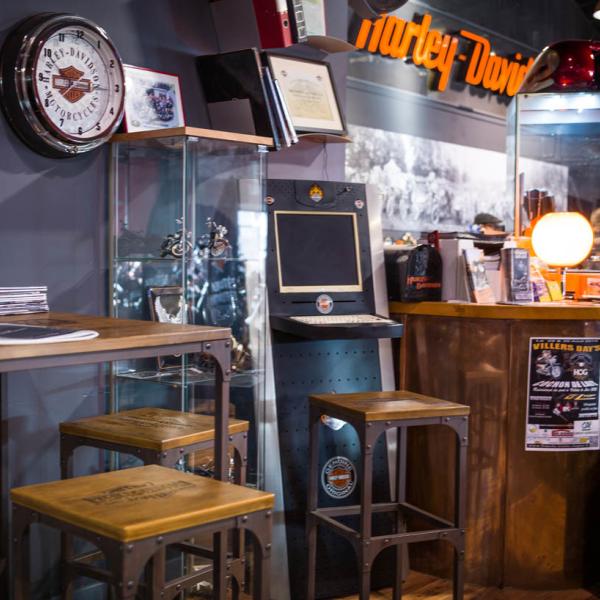 Concession - boutique accessoires - Harley-Davidson Besançon