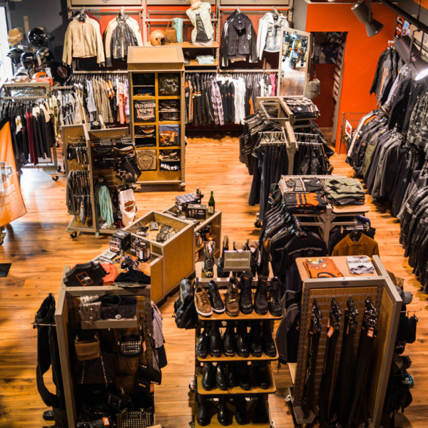 Concession - boutique textile - Harley-Davidson Besançon