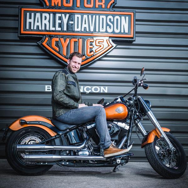 Guillaume GIBEAU - Conseiller commercial Vente Motos Neuves et occasions - Harley-Davidson Besançon