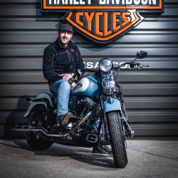 Alexis GRANDJEAN - Chef d'atelier - Harley-Davidson Besançon