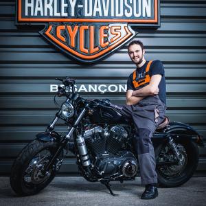 catégorie(s) :  - Bertrand NORMAND - Technicien - Harley-Davidson Besançon