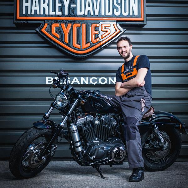 Bertrand NORMAND - Technicien - Harley-Davidson Besançon