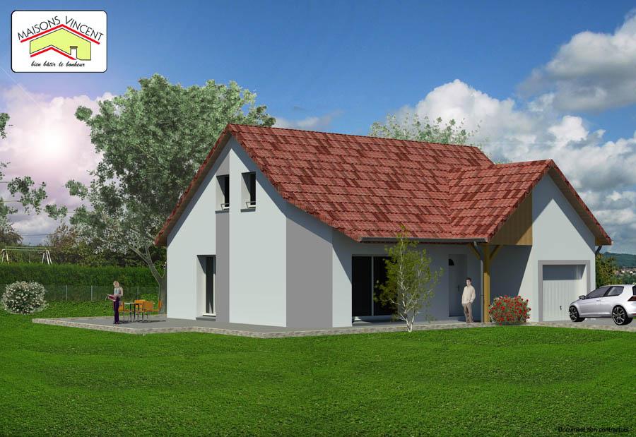 Modèle Réf. 6F variante : 133 100 euros - Maisons Vincent