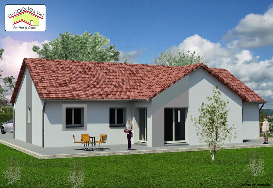 Modèle Réf. 14D : 143 300 euros - Maisons Vincent