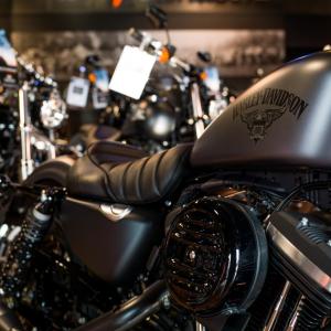 catégorie(s) :  - Intérieur concession - Harley-Davidson Besançon