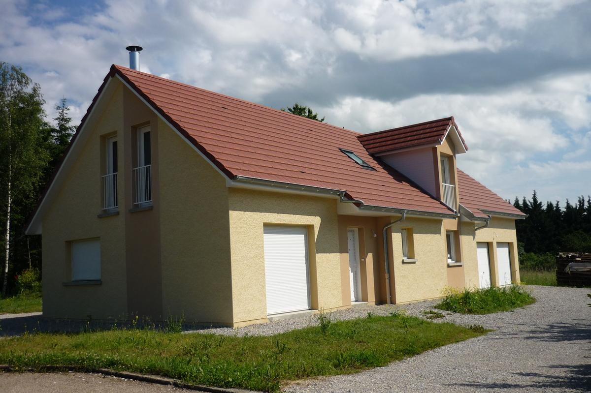 Constructeur de maisons traditionnelles maisons vincent for Constructeur de maison besancon