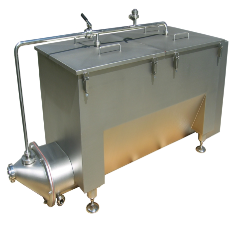Sale and installation of one buttersilo - capacity 1000 kg - with its butter pump