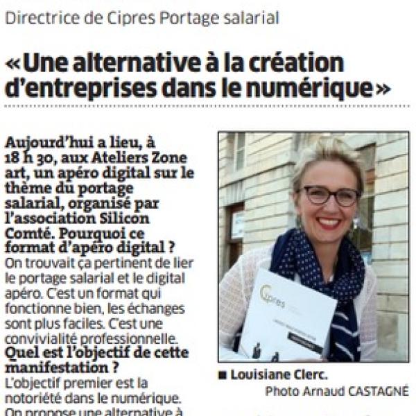 portage salarial création d'entreprise numérique - Cipres