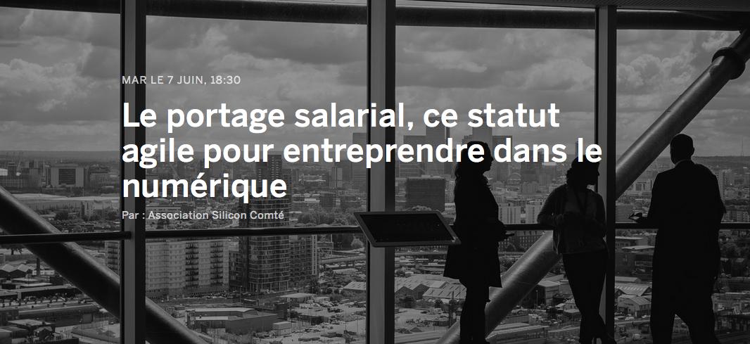 portage salarial statut web numérique - Cipres