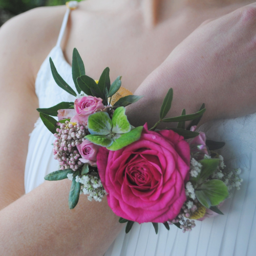 Bracelet de fleurs-Estelle destin d'une brindille