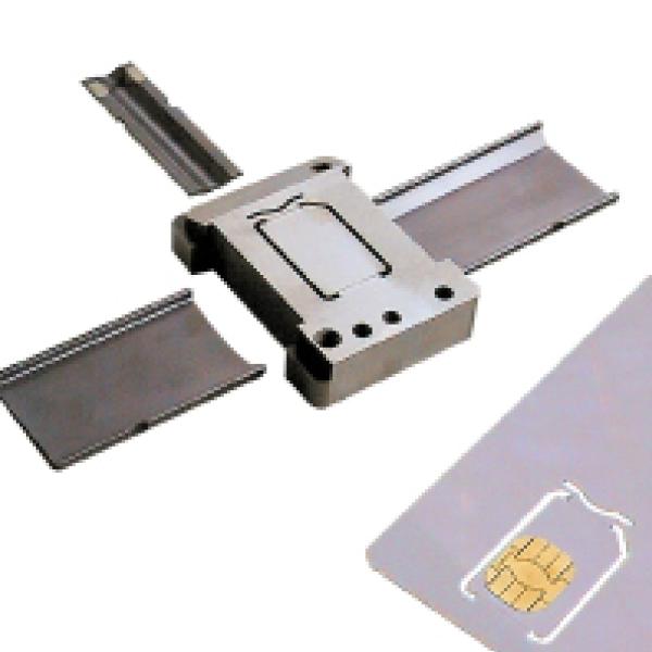 Découpe carte SIM - Carte à puce - presse étude