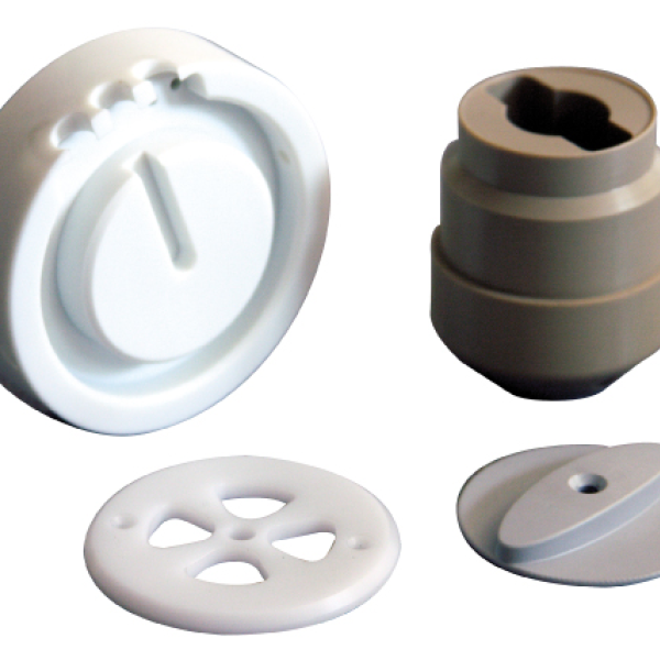 Miscellaneous plastics machined parts - presse étude