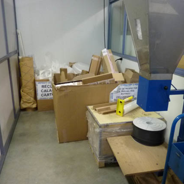 Récupération des emballages pour réutilisation - presse étude