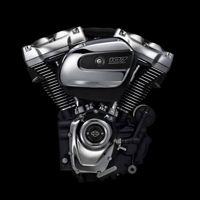 Harley Davidson Milwaukee Eight - Harley-Davidson Besançon
