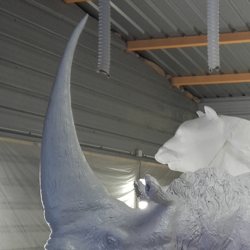 Elasmotherium en cours