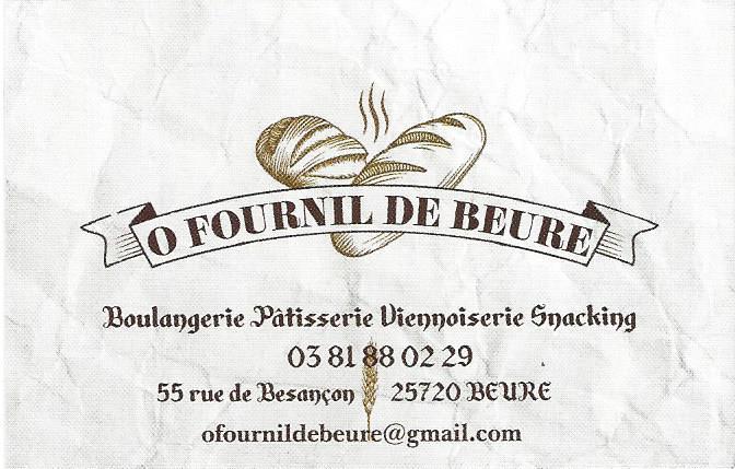 logo de O Fournil de Beure commerce à Beure