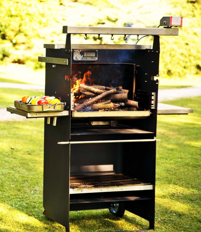barbecue multifonction rotisserie rhino grill smart édition